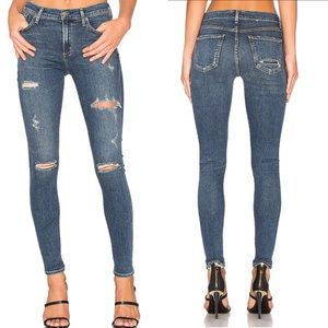 Agolde | Sophie High Rise Skinny Jeans Kansas City